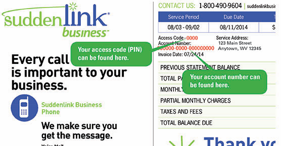 suddenlink my account forgot user name